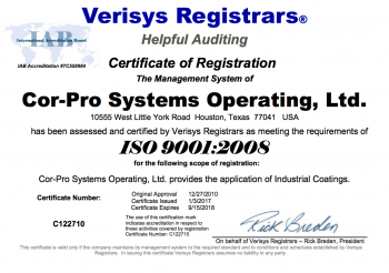 cor-pro-certification